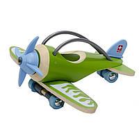 Игрушка E-Plane, самолет бамбуковый