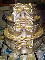 Тортик для денег Бант, фото 1