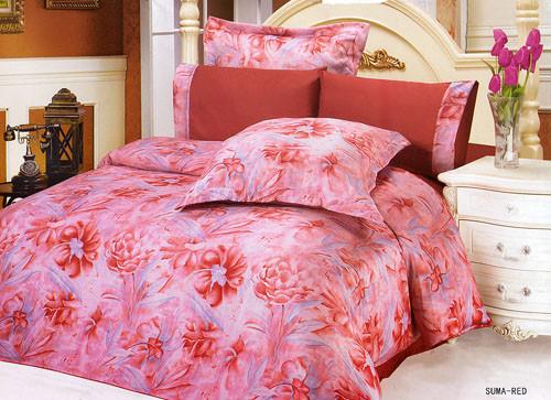 Комплект постельного белья жатка Le Vele Suma red