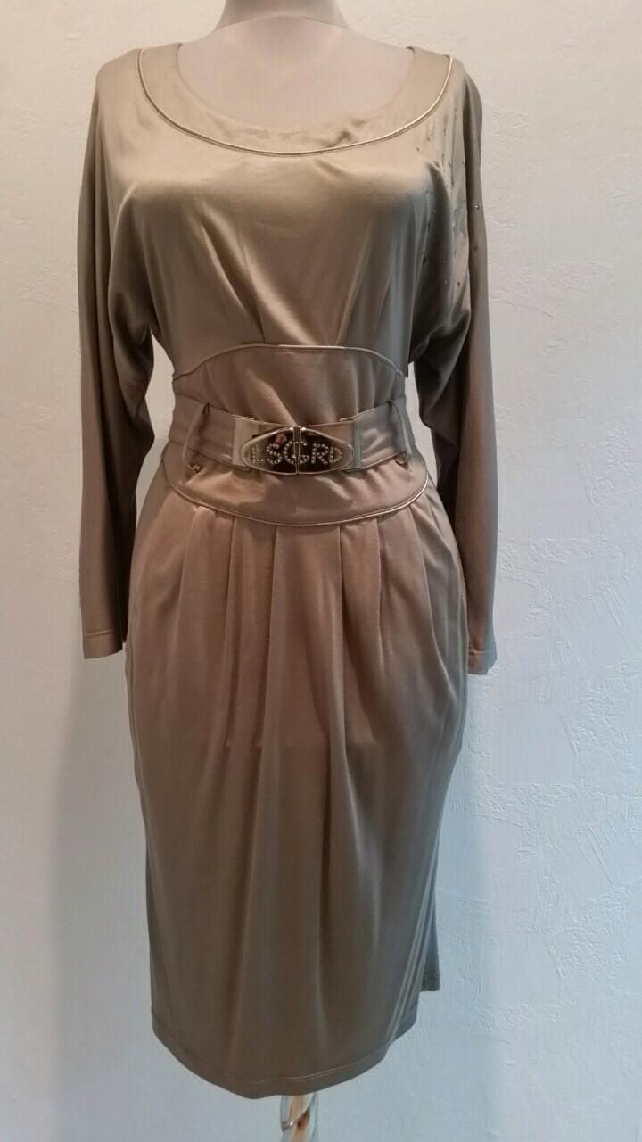 Платье Lasagrada светлое с рукавом