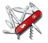 Складной нож Victorinox ANGLER красный рыба 18 предметов (Vx13653.72)