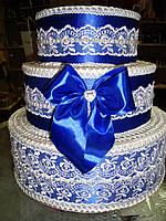 Тортик для сбора денег Роскошь