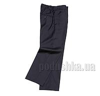 Школьные брюки синие Юность 201 32 (Р-134, ОГ-60, ОТ-60)