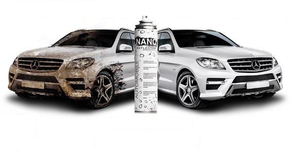 Купить гидрофобное средство Nano Reflector Automobile во Львове