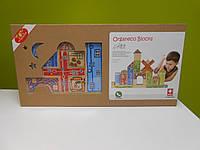 Игра-конструктор Organeco Blocks бамбуковый, фото 1