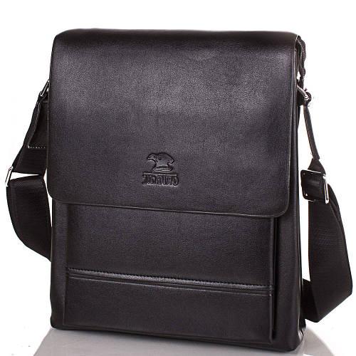 Привлекательная мужская сумка из качественного кожезаменителя JIN DIAO (ДЖИН ДИАО), SHI6820-2
