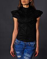 Черная женская рубашка - MOP