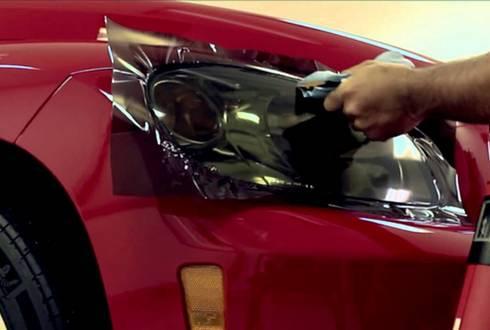 Захисні плівки для оптики, проблемних частин кузова та ін