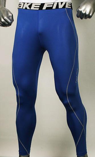 Чоловічі компресійні штани Take five blue