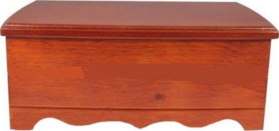 Стильный двухуровневый комодик для украшений King Wood JF-K0604B ореховый