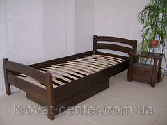 """Кровать """"МАРТА"""". Массив - сосна, ольха, дуб."""