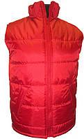 Жилетка Atteks стеганная рабочая утепленная на синтепоне красная - 01200
