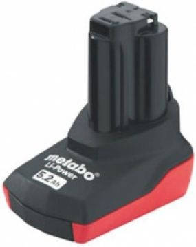 Аккумуляторная батарея Metabo Li-Power 10.8 V, 5,2 Ач, фото 2