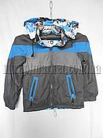 """Детская куртка на мальчика Весна Подросток (5 - 12 лет) """"Mustang"""" LB-1027"""
