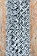 Сетка-рабица оцинкованная 40х40, 2,5мм, Н=1,8м, 10 метров