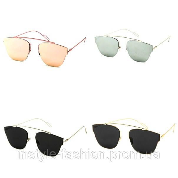 Женские солнцезащитные очки реплика Диор
