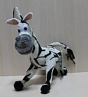 Мягкая игрушка Зебра Марті тм Копиця
