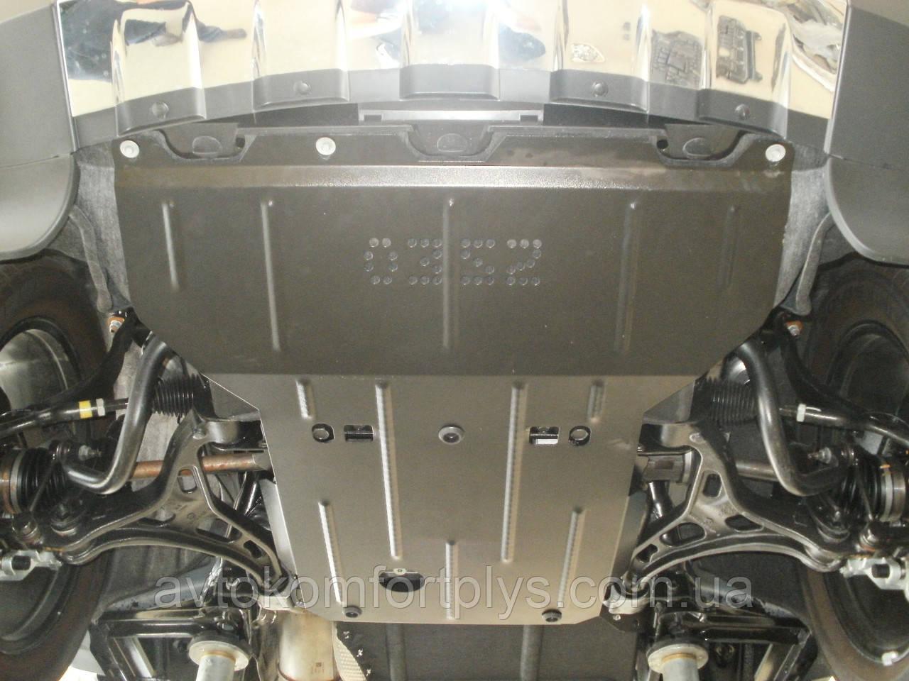 Металлическая (стальная) защита двигателя (картера) Jeep Grand Cherokee (2011-) (V-3.0 D)