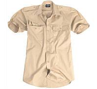 Рубашка с коротким рукавом. Хаки