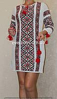 Женское платье - туника ( машинной вязки)