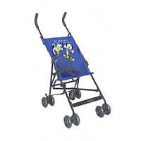 Коляска-трость Bertoni FLASH,blue puppies, легкая, компактная