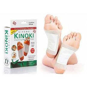 Лікувальні токсиновыводящие пластирі Kinoki 10 пл., фото 2