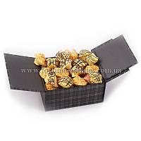 """Печенье с предсказаниями """"Статус"""" №1, 19 шт. в шоколадной глазури"""