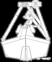 Грейфер для сыпучих грузов - КО.42-Б