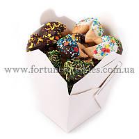 """Печенье с предсказаниями """"Эконом"""" №1, 12 шт. в шоколадной глазури"""