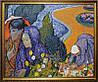 «Женщины Арля», копия картины Ван Гога картина маслом