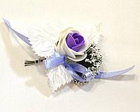 Бутоньерка на свадьбу для гостей