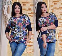 Женская стильная туника ДГр7264