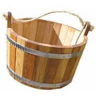 Шайка 20 л для  веников в бане
