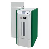 Пеллетный котел Herz Pelletstar 10 BioControl, Compact  бункер 300л