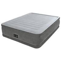 Ортопедическая надувная кровать Intex