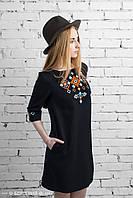 Платье с вышивкой Леля