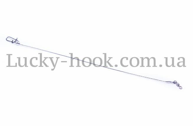 Поводки Wolfram Predator 25cm (50шт), фото 2
