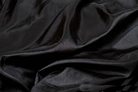 Портьерная ткань тафта черная