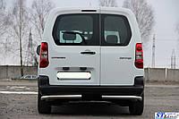 Peugeot Partner 2008+ Задняя защита углы AK003