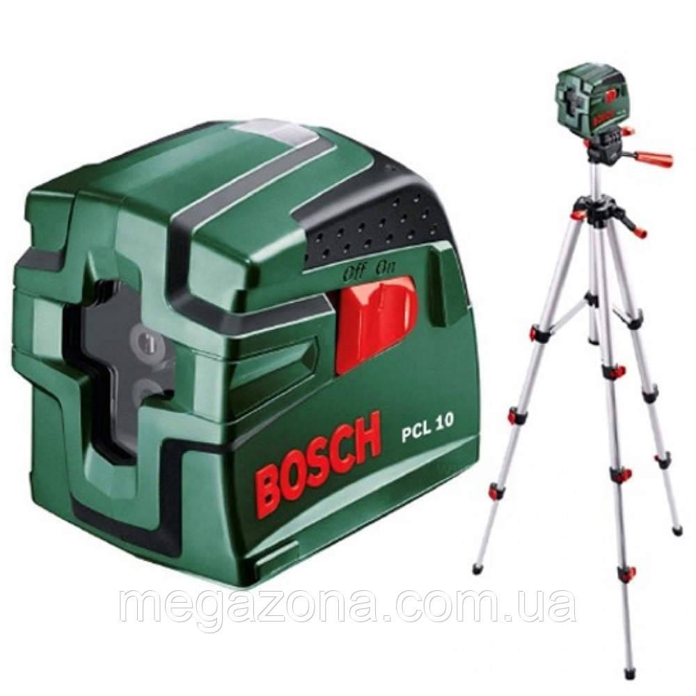 Лазерный нивелир Bosch PCL 10 SET, фото 1