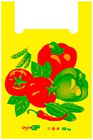 Пакеты майка 38*58 Овощи, GoodPack
