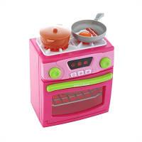 Игрушка Кухонная плита с духовкой розовая Keenway 21675