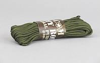 Mil-Com веревка 3мм/15м олива