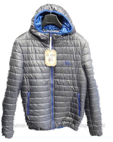 Куртка мужская капюшон