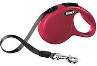 11836 Flexi Рулетка New Classic S 5м до 15кг лента, розовый
