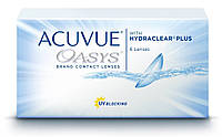 Контактные линзы Acuvue Oasys with hydraclear plus (6шт в уп)