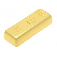 Флеш-память 4 ГБ в виде золотого слитка