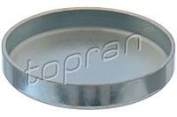 Заглушка блока цилиндров на Renault Trafic 2001-> 1.9dCi (38 мм) - Topran (Германия) - HP109 378