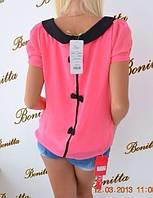 Блуза с бантиками