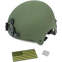 KA пласт. шлем IBH с креп. ПНВ - OD